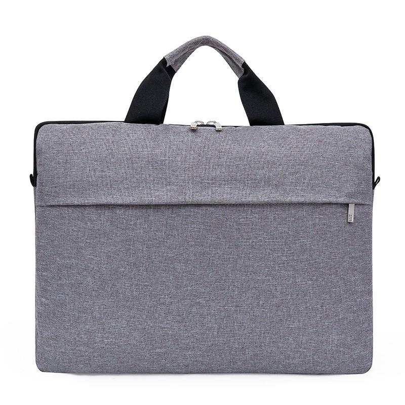 威格森舞龙尼龙牛津布商务电脑公文包黑色,灰色15.6寸