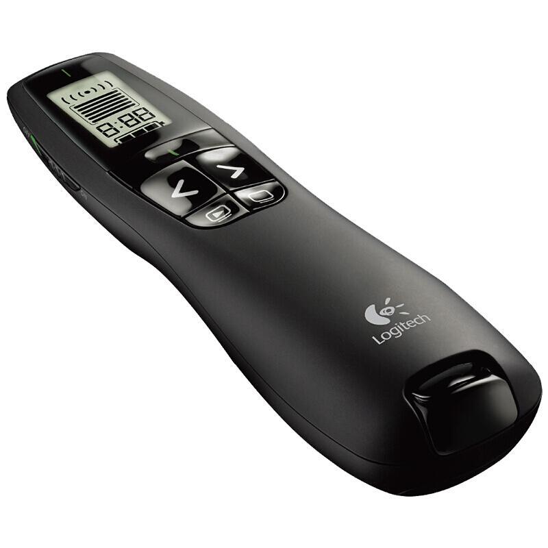 【罗技】无线演示器ppt翻页笔演示笔(激光笔)专业版 R800
