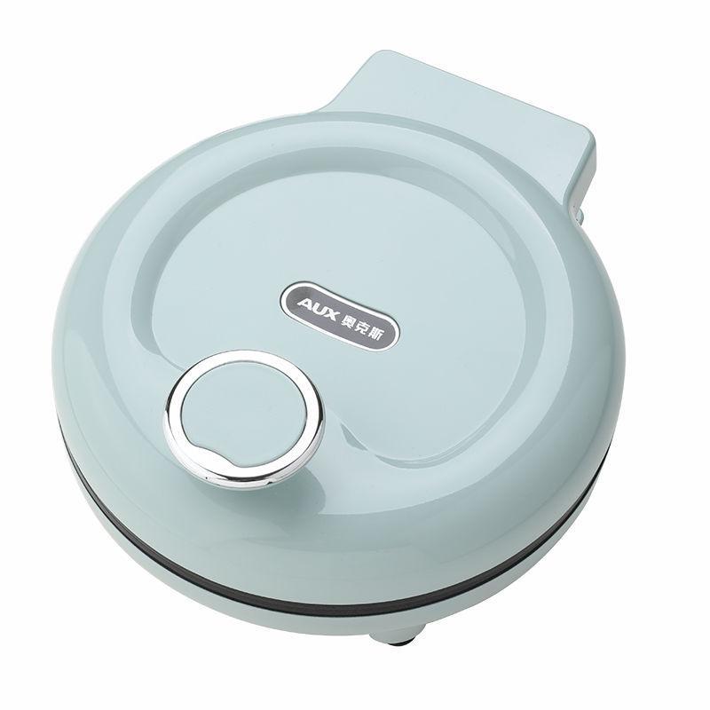 【奥克斯】迷你小型电饼铛三明治煎饼机烙饼锅脆皮鸡蛋卷锅黑色粉色蓝色LA-201