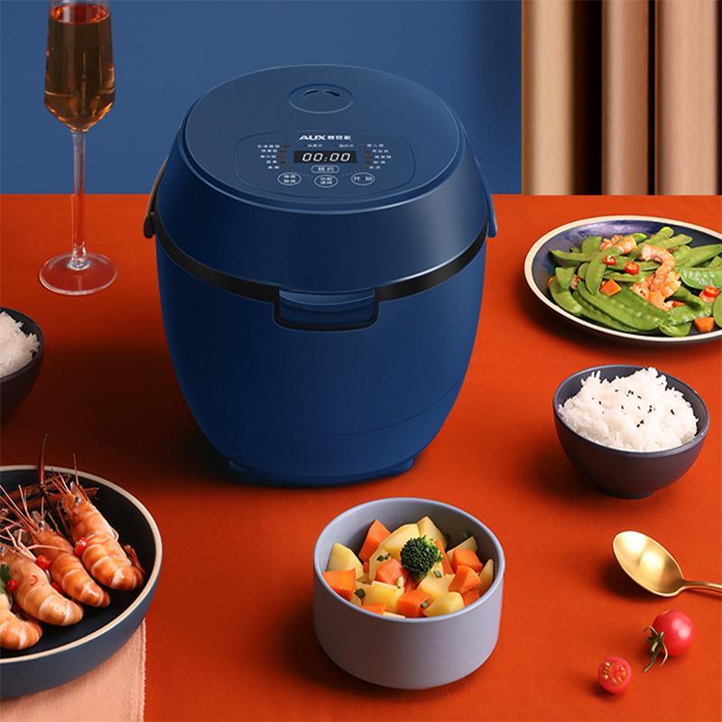 【奥克斯】低糖电饭煲家用米汤分离多功能全自动养生锅降去低糖沥米饭宝石蓝VK-201F4