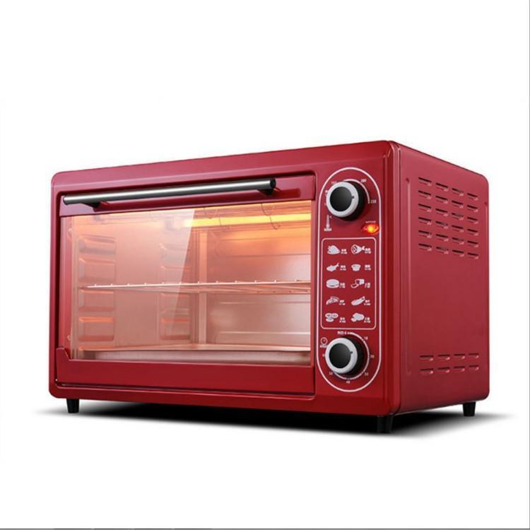小霸王48升大容量家用电烤箱多功能加热烘焙