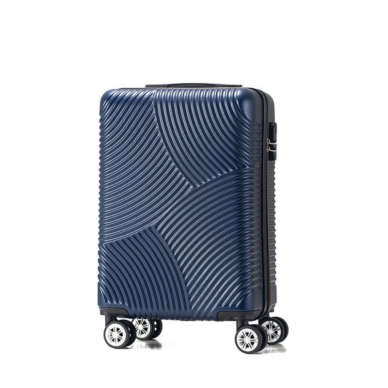 【驿客】蓝色经典拉杆箱蓝色20英寸EKX-8066