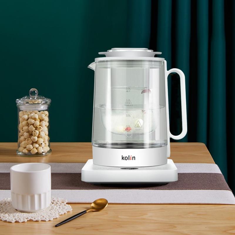 【歌林】Kolin养生壶隔水炖煮茶壶多功能电水壶保温壶尊享L-GL7806C