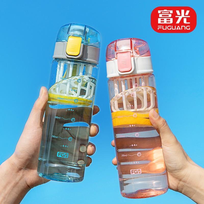 【富光】塑料杯摇摇杯便携运动水杯奶昔杯带刻度FAS7701-650/FAS7701-850