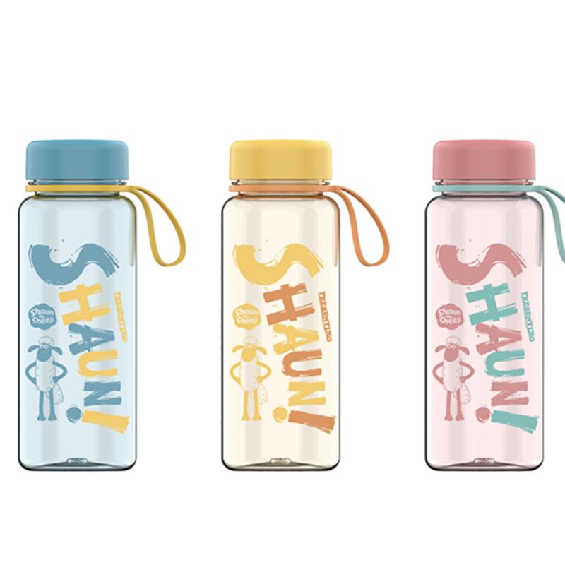 【富光】水杯学生塑料水杯夏季儿童杯子耐摔便携可爱卡通随手太空杯FAS7102-600