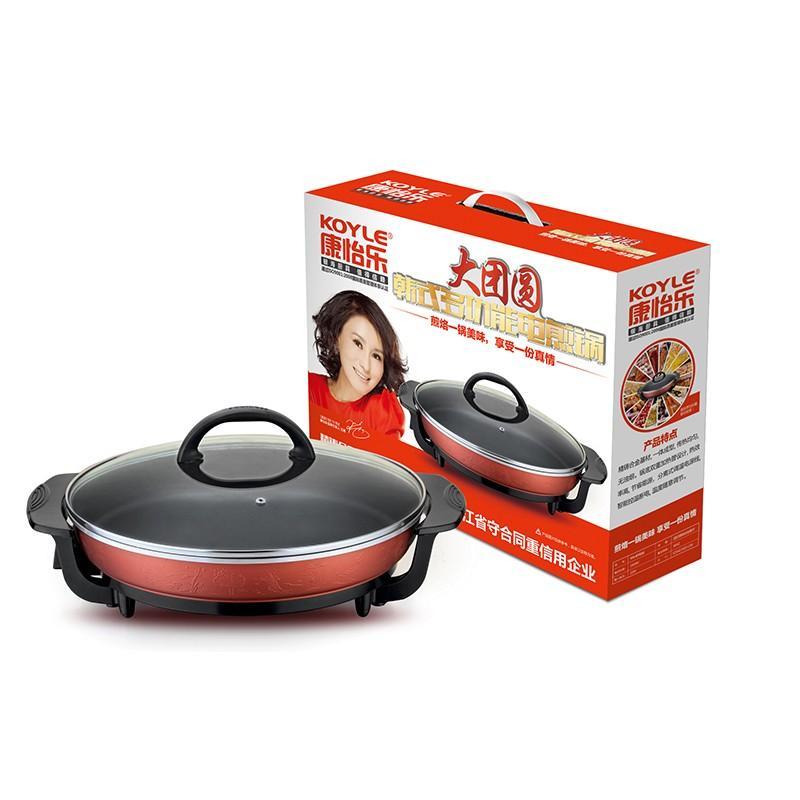 【康怡乐】康怡乐水煎包锅薄饼机煎饼锅大口径电煎锅KY016