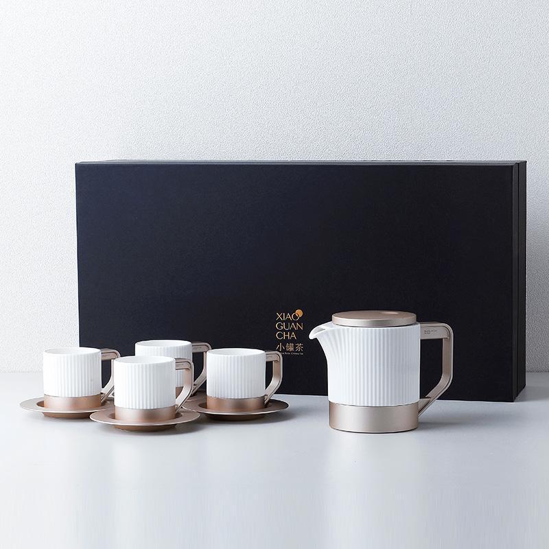 【小罐茶】茶具整套茶具骨瓷茶具茶杯高温耐热茶具