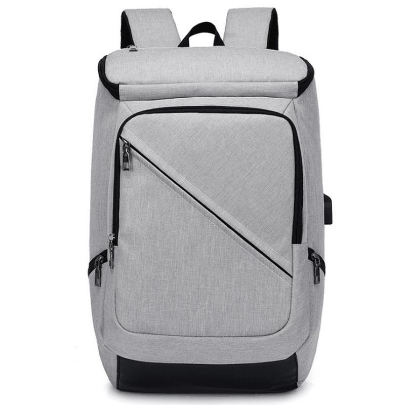 时尚潮流双肩包大容量旅行背包简约休闲电脑书包M8069