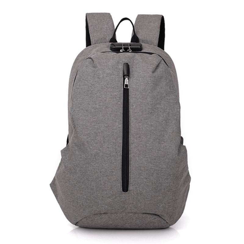 双肩电脑包休闲简约时尚包学生书包M8070