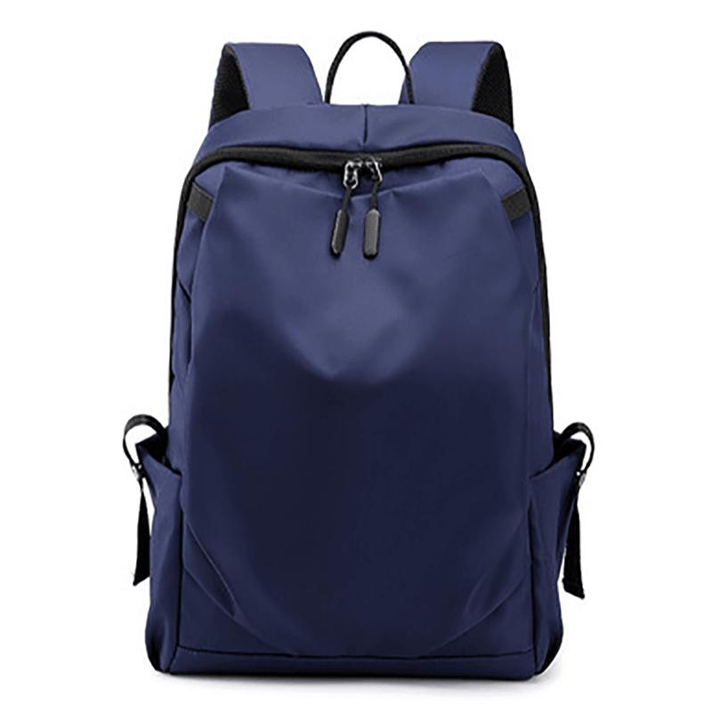 双肩电脑包时尚休闲简约双肩包学生书包M8071