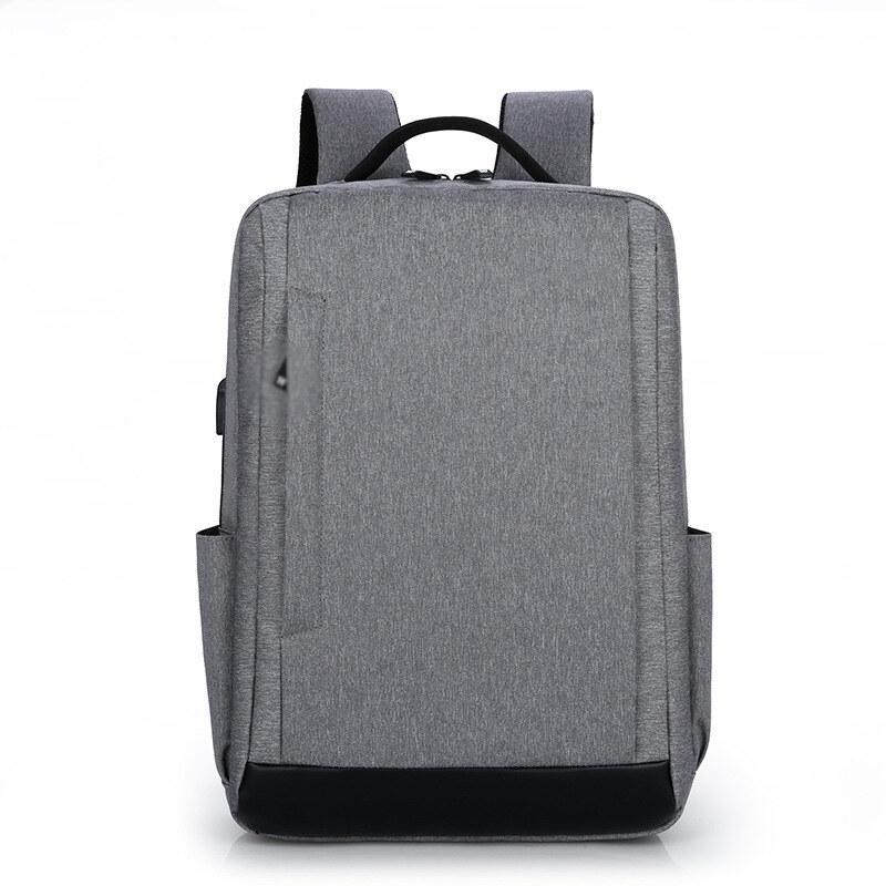 双肩电脑包休闲简约大容量双肩包学生背包电脑包M8073