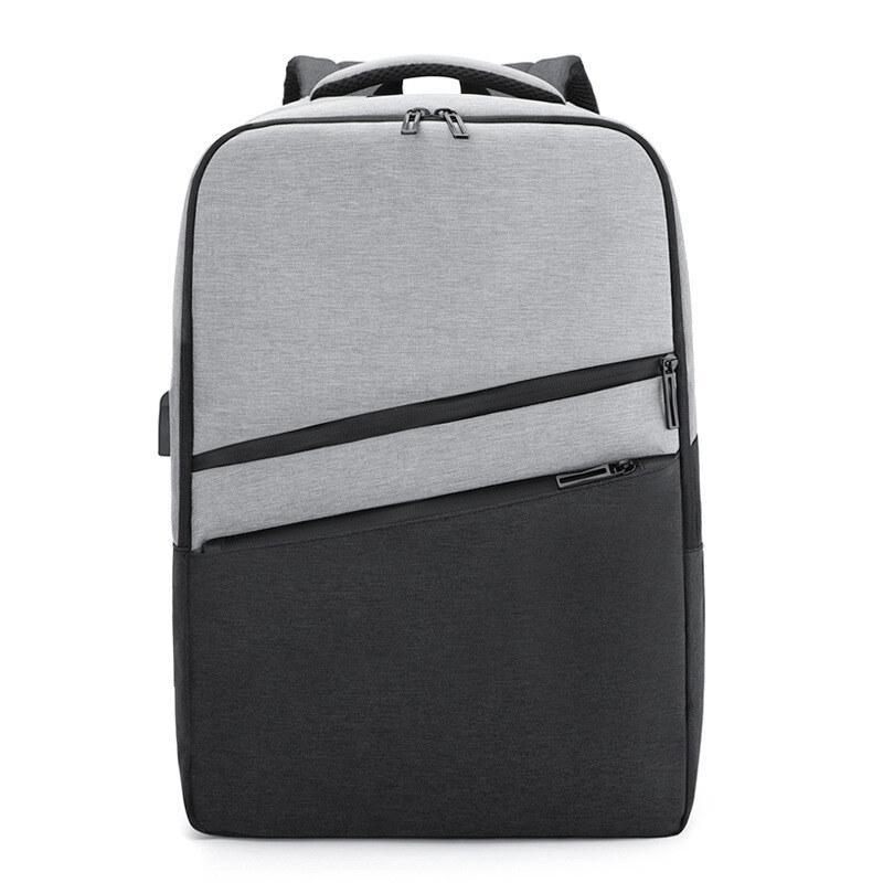 双肩电脑包休闲简约时尚大容量书包M8075
