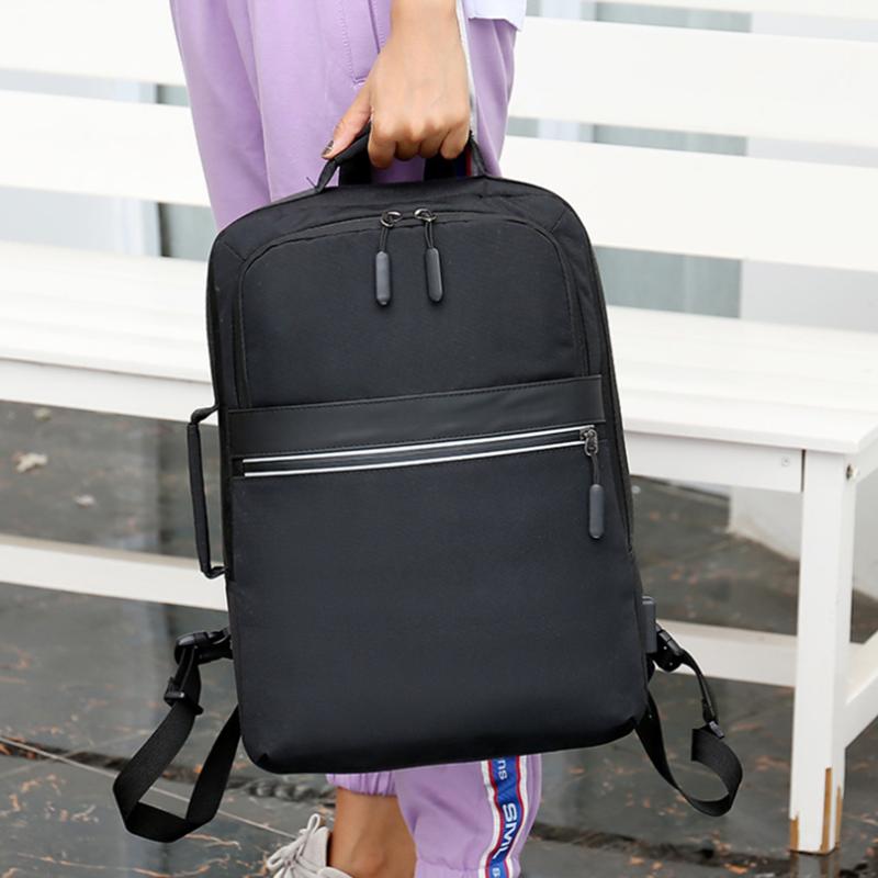 电脑背包大容量商务旅行休闲包手提双肩包M8078