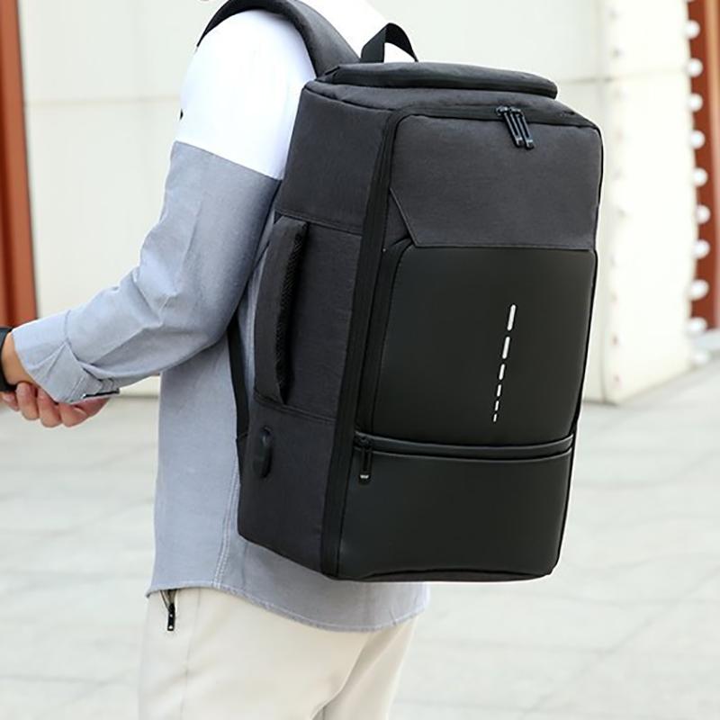 大容量户外休闲防泼水旅行双肩包电脑包M8081