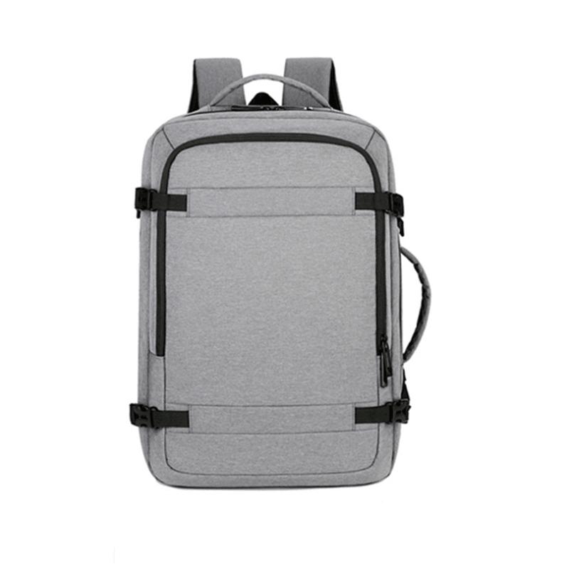 双肩电脑包休闲简约学生书包大容量旅行包M8085