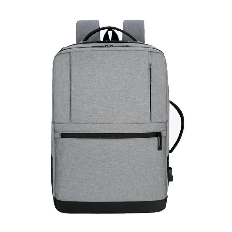 双肩电脑包休闲简约大容量双肩包学生书包M8088