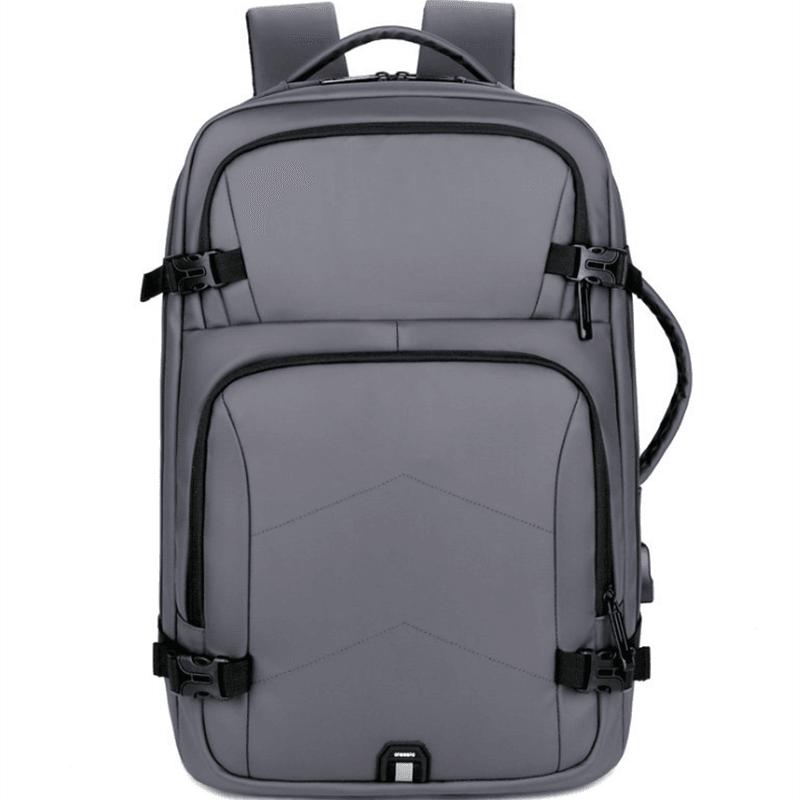 双肩电脑包休闲简约美观大容量学生双肩包商务包M8089