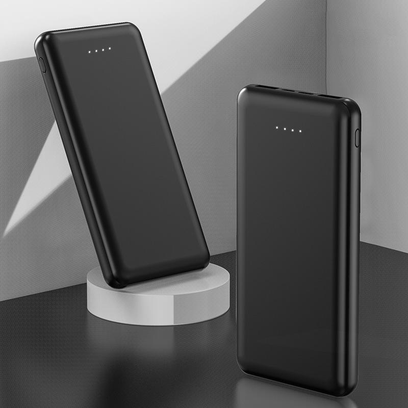 长方形移动电源新款超薄充电宝便携式移动电源10000毫安