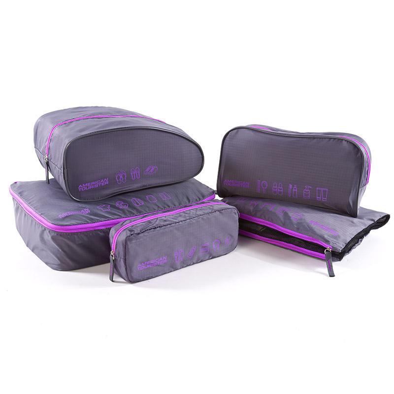 【美旅】ATACCESSORIES旅行收纳袋五件套化妆包衣物收纳袋Z19*48032