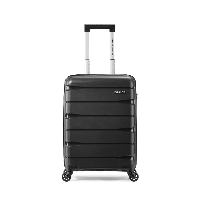 【美旅】美旅四轮旋转拉杆箱黑色55/20防刮耐磨行李箱TC7*09001