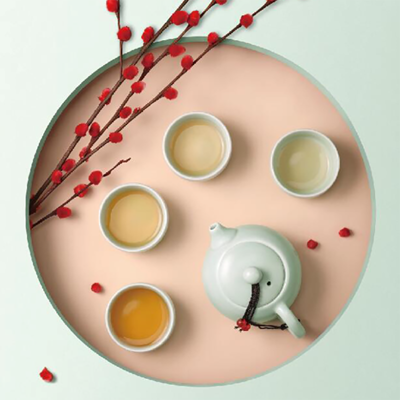 【FORUOR】喜悦茶具套装美观雅致茶壶茶杯FU-HJK910