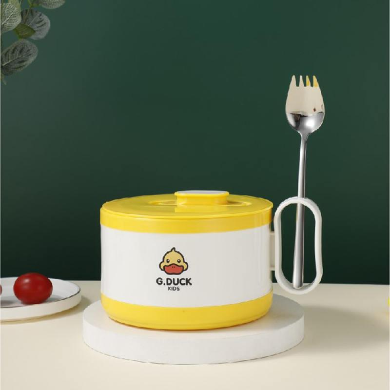 小黄鸭可煮泡面杯泡面碗彩盒装XHY0016
