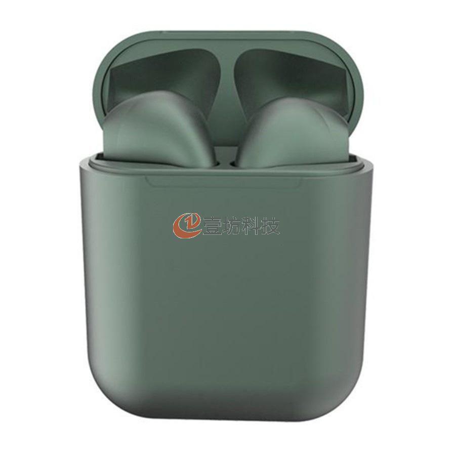 金属色无线蓝牙耳机金属磨砂真立体弹窗运动无线蓝牙耳机5.0