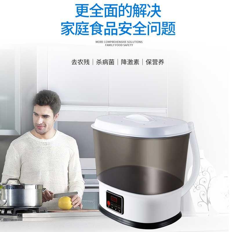 【华斯泰】果蔬蔬菜清洗机食材净化机家用全自动净食机HST-GS04