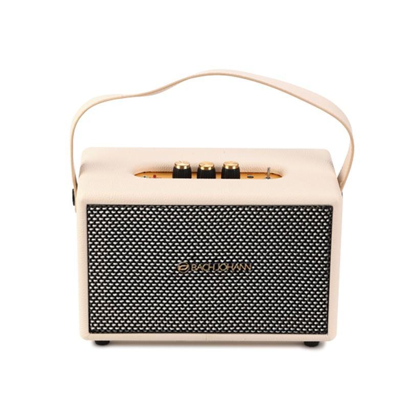 【巴赫约翰】巴赫无线蓝牙音箱家用超重低音炮低音蓝牙音箱M6