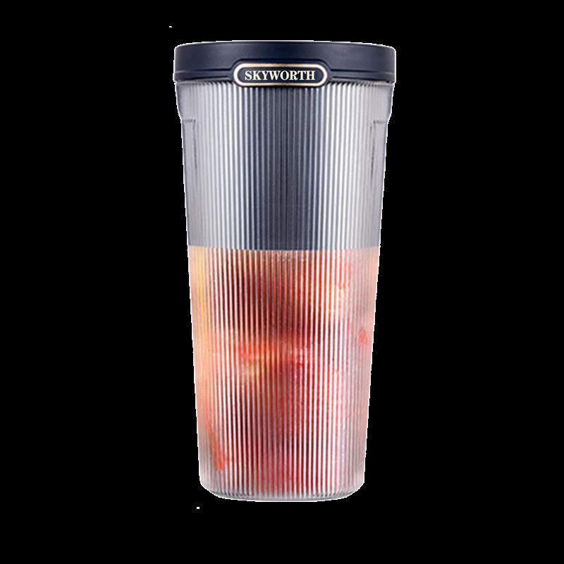 【创维】便携榨汁杯/摇摇杯/果汁杯(蓝色 红色)P317-CR