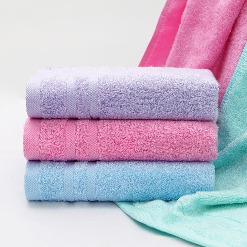 爱竹人单条美容巾(磨砂袋)竹浆竹纤维毛巾家用柔软面巾AZR-003