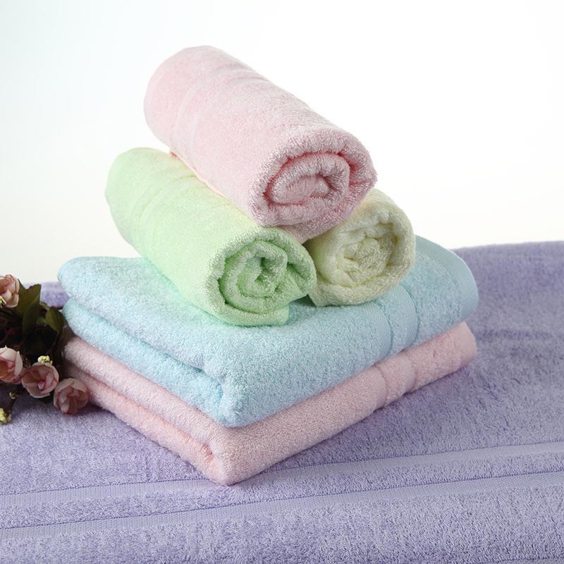 爱竹人单条条缎毛巾(磨砂袋)竹浆竹纤维毛巾家用柔软面巾AZR-005
