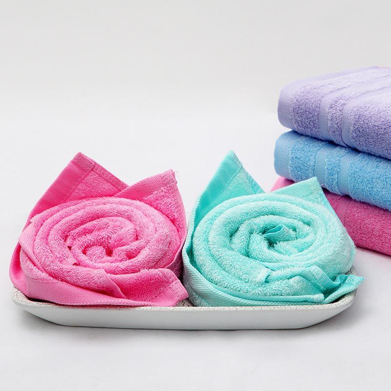 爱竹人单条美容巾(软盒)竹浆竹纤维毛巾家用柔软面巾AZR-008