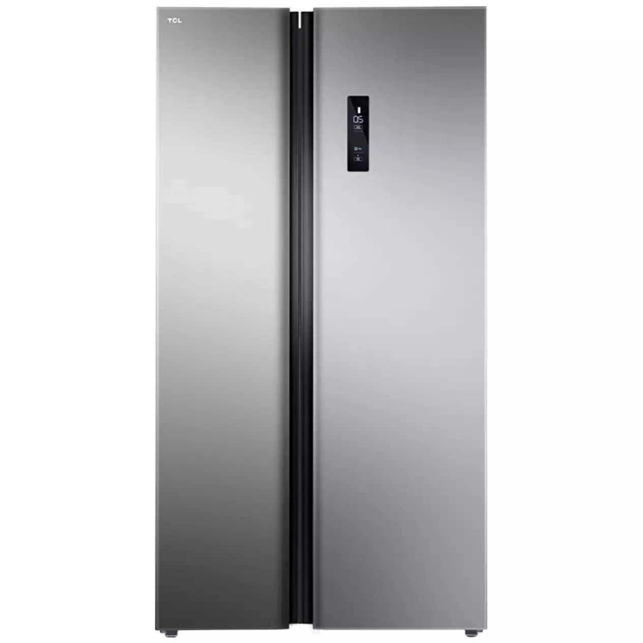 【TCL】 521升 纤薄对开 变频节能 风冷无霜 双门对开门电冰箱星辰银BCD-521CWP