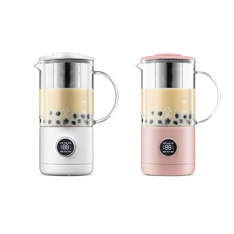 【鸣盏】奶茶机家用便携饮品机小型奶泡机自动咖啡烧水养生壶办公室多功能全自动一体小型煮茶器MZ402