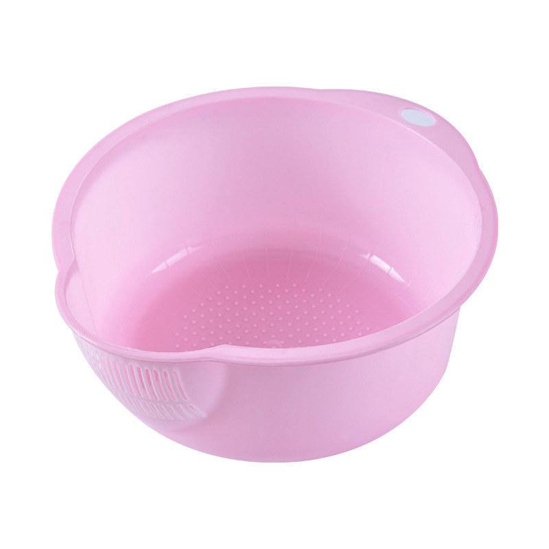 塑料淘米器创意沥水篮家用洗米筛