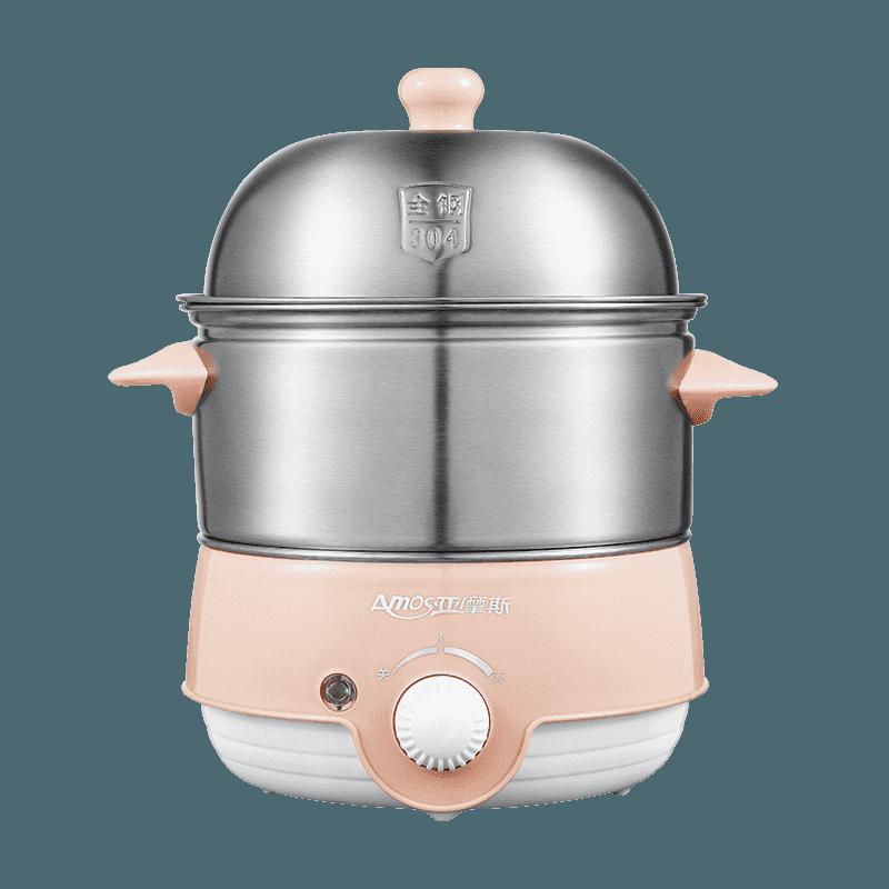 【亚摩斯】早餐吧 多功能早餐吧304不锈钢小蒸宝煮蛋器蒸蛋机 AD-Q3501